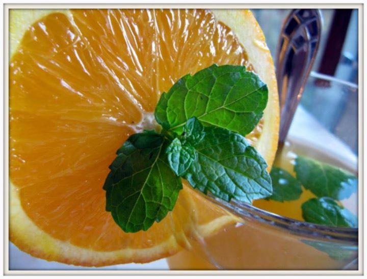 orange juice - fat burners