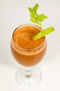 vegetable-juice burning fat