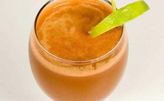 vegetable-juice burning fat