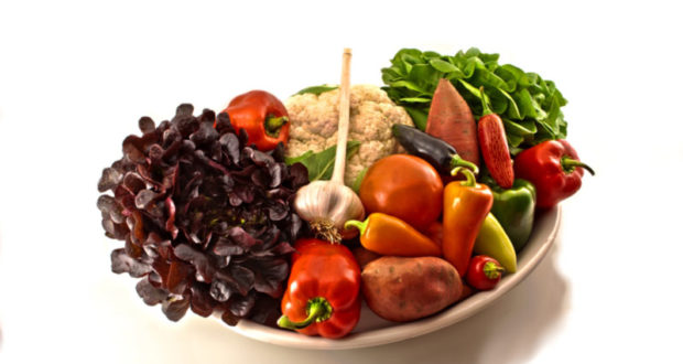 Pritikin diet - vegetables and fruit