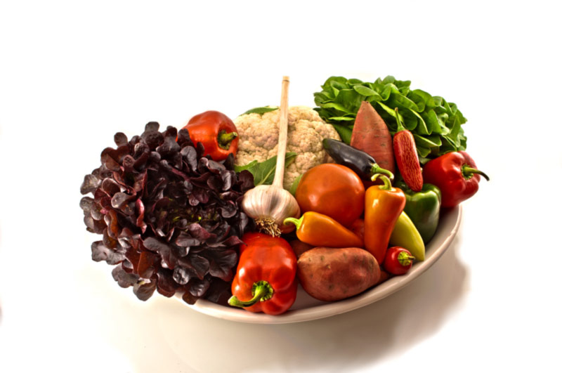 Pritikin diet - vegetables and fruit