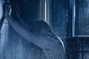 men under shower