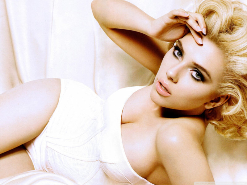 skin care - Scarlet Johansson