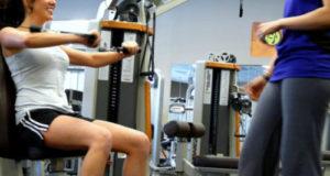 women exercising - love
