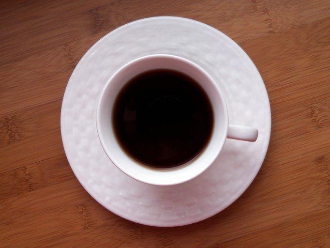black tea on table