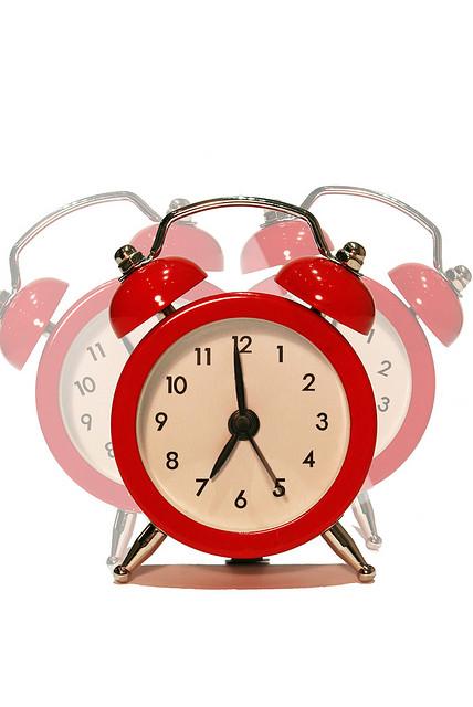 caffeine clock wake up
