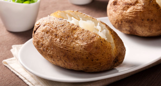 carbohydrates cooked potatoe