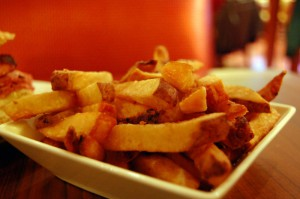 stomach french fries