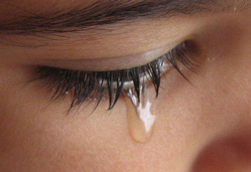 women tears