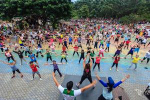 zumba exercise