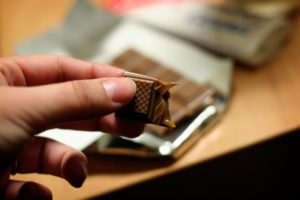 chocolate for cough