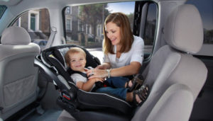 children in carseat