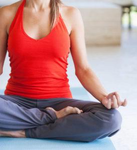 depression with yoga