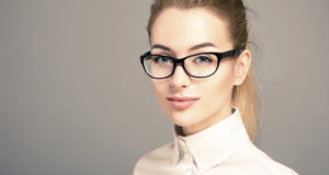 eyes women with glasses eyes