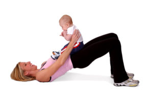 exercise women and child