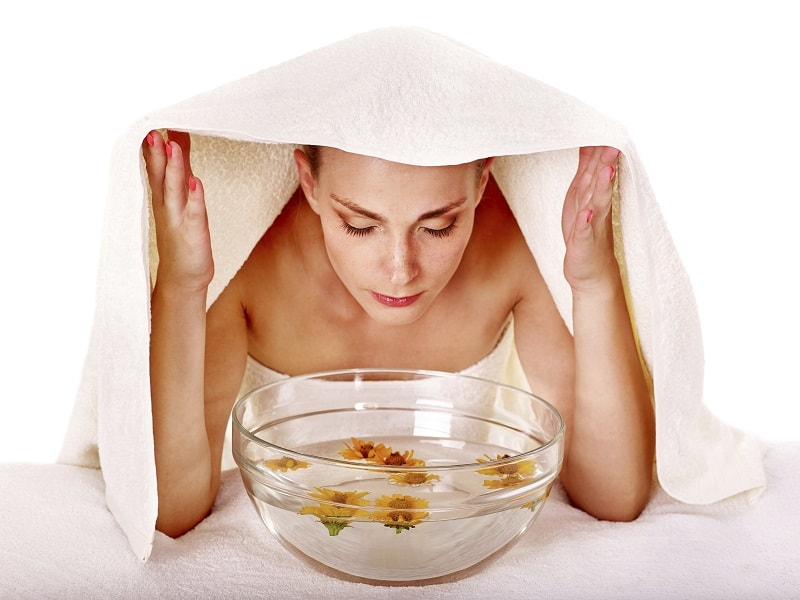 steam bath women