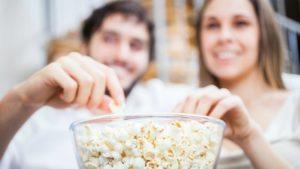 popcorn healthy snack