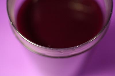 grape juice - more calories