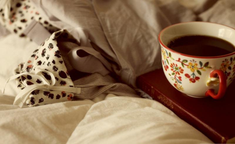 Caffeine in the coffee