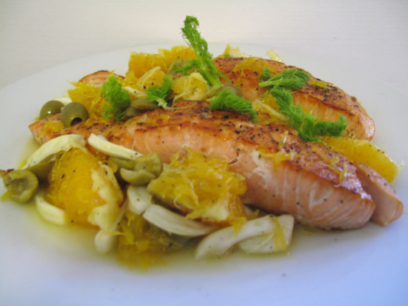 Nordic diet - salmon
