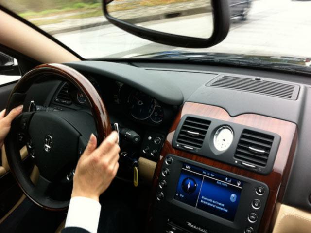 driver driving break