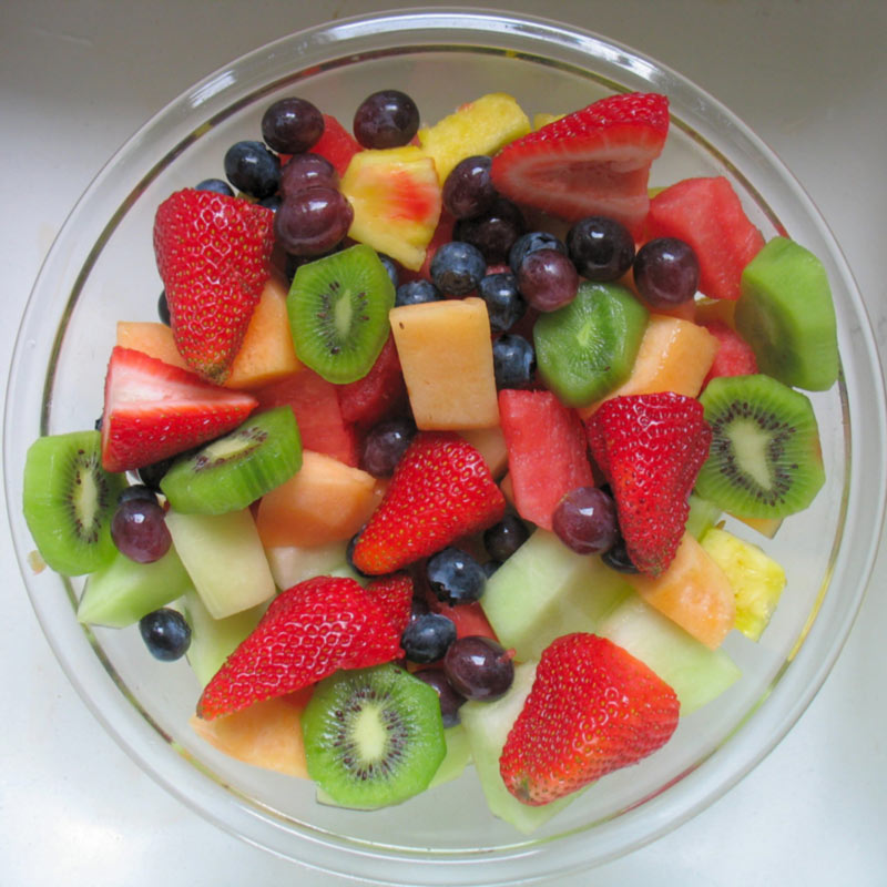 fruit salad against diabetes