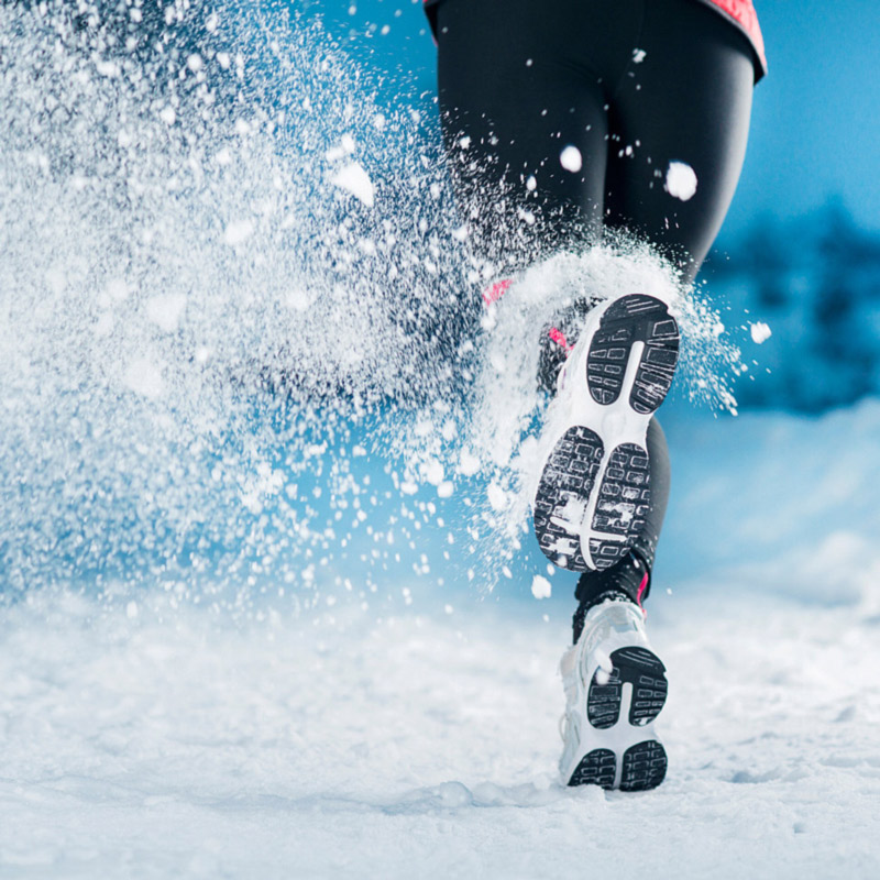 skiing and exercise
