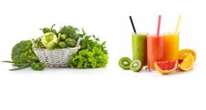detoxification vegetables and fruit