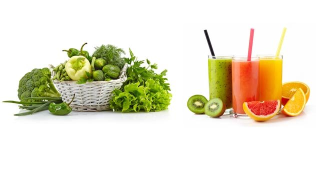 detoxification vegetables and fruit