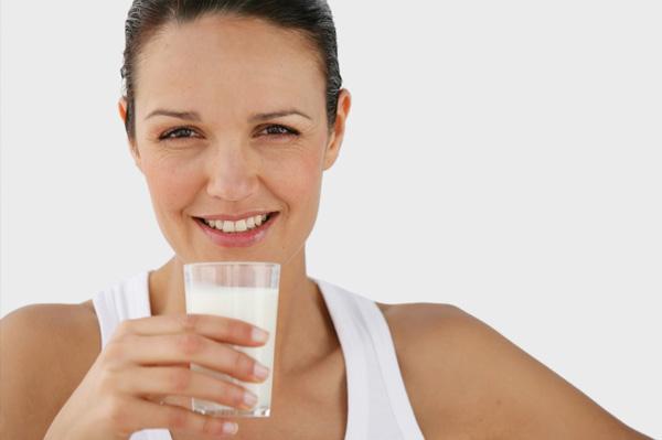 workout drink milk