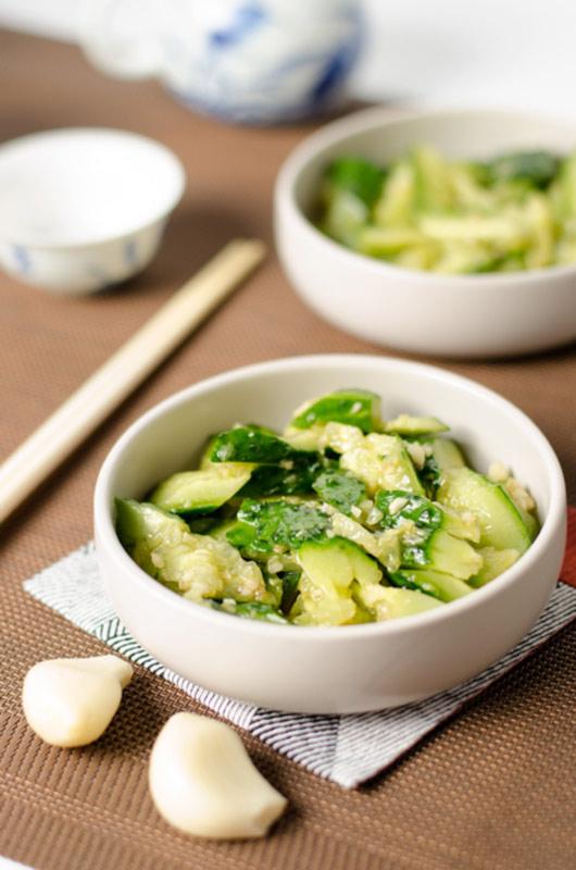 salad garlic
