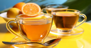 flu lemon tea