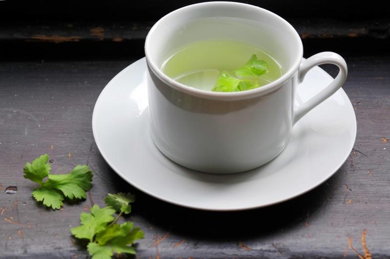 kidneys parsley tea